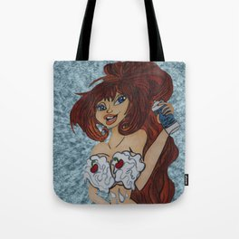 It is always better with whip cream. Tote Bag
