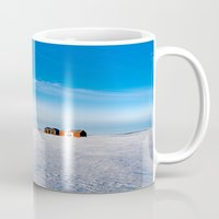 canada Mugs featuring Canada Shack by Leslie Philipp