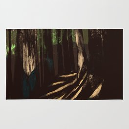 Path Through the Redwoods Rug