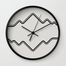 Mountain Vision Wall Clock