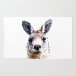 Kangaroo Portrait Rug