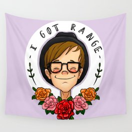 the littlest punk Wall Tapestry