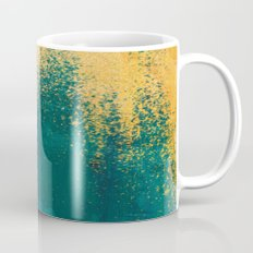 Gold Rush Peacock Mug