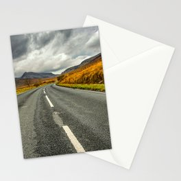 Winding Welsh Road Stationery Cards