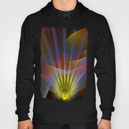 Inner light, spiritual fractal abstract Hoody