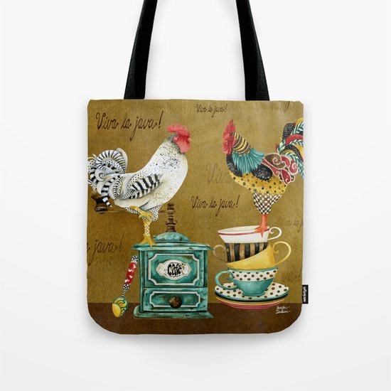 Roosters Majestic Tote Bag