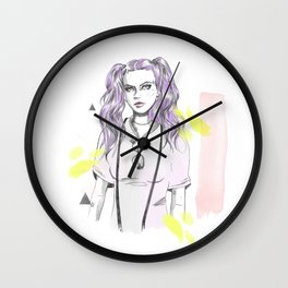 Festival vibes Wall Clock