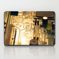 technology iPad Cases featuring Sunset Technology by Encore Designs