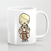 fifth element Mugs featuring FIFTH by Space Bat designs