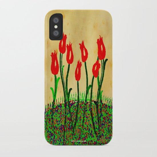 FLOWERS 015 iPhone Case
