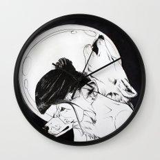 Wolf Familiar (werewolf) Wall Clock