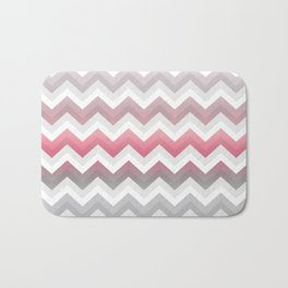 Chevrons VII Bath Mat