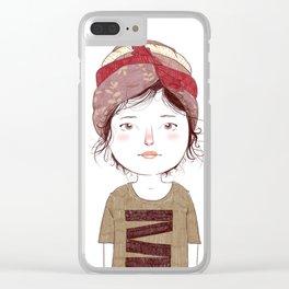 Turban 2/3 Clear iPhone Case
