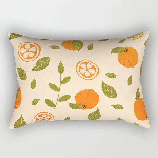 Oranges lover Rectangular Pillow