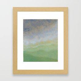 Informal texture three Framed Art Print