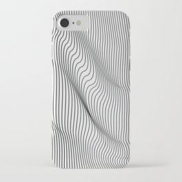 Minimal Curves iPhone Case