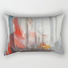 My baby (Red Riding Hood) Rectangular Pillow