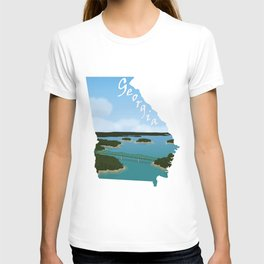 Georgia: Lake Lanier T-shirt