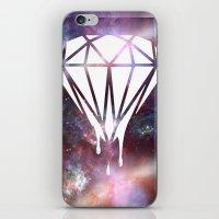 diamond iPhone & iPod Skins featuring Diamond by jeff'walker