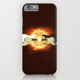 Two Guitars iPhone Case