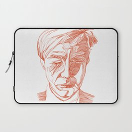 Andy portrait (Red) Laptop Sleeve