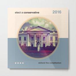 Elect A Conservative Metal Print