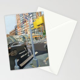 Curvilinear 95TH Stationery Cards