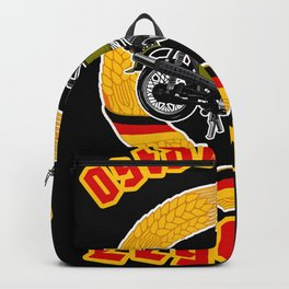 East German legend Simme T-shirt DDR gift idea   Backpack