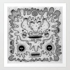 square sausage Art Print