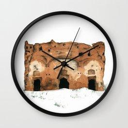 Ruin Wall Clock