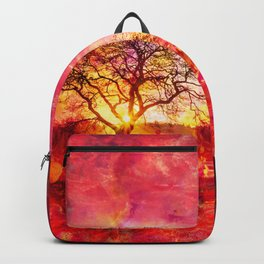 Pink Autumn Backpack