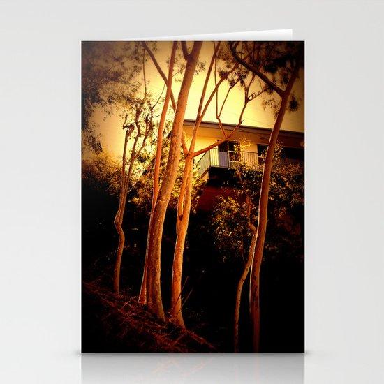 sunset mystery Stationery Cards