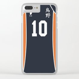 Hinata's Jersey Clear iPhone Case
