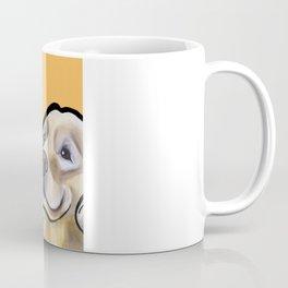 George the golden retriever (orange) Coffee Mug