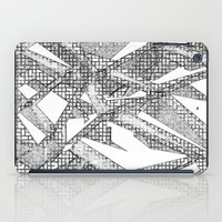 blueprint iPad Cases featuring Blueprint - monochrome by Etch by Design
