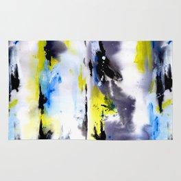 Watercolor Abstract Horizons Rug