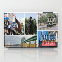 memphis iPad Cases featuring Memphis Memories by Harlan Stillions