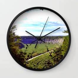 Grand Canyon of the East Wall Clock