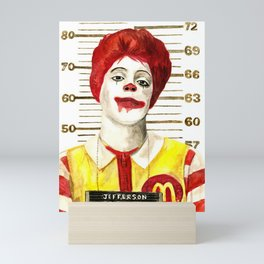 McMurder Mini Art Print