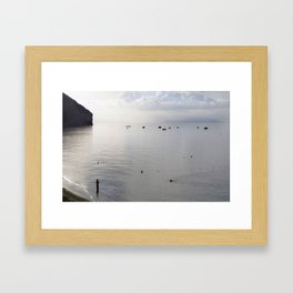 new dawn Framed Art Print