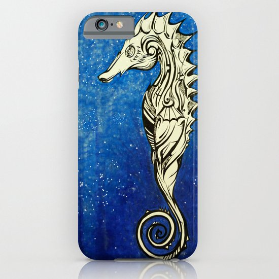 Tribal Seahorse iPhone & iPod Case
