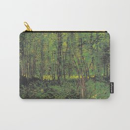 Vincent van Gogh - Trees and Undergrowth Carry-All Pouch