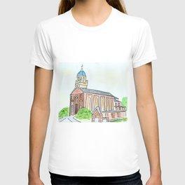 University of Dayton watercolor, UD Chapel, Dayton, OH T-shirt