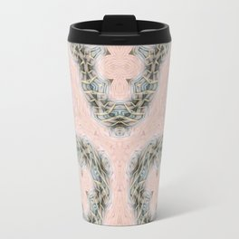 Mandalic Storm Mirror Pattern 2 Travel Mug