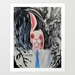 The Tester of Toxicity Art Print