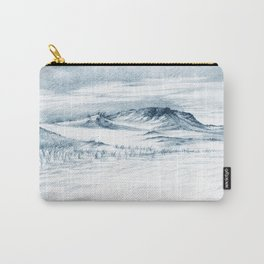 Beach Sand Dunes Drawing Carry-All Pouch