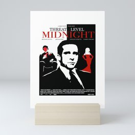 TheOffice - Threat Level Midnight Movie Poster Mini Art Print