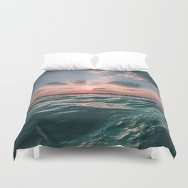Sunset Tide Duvet Cover