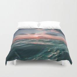 Sunset Tide Duvet Cover