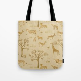 Safari in the Serengeti Tote Bag